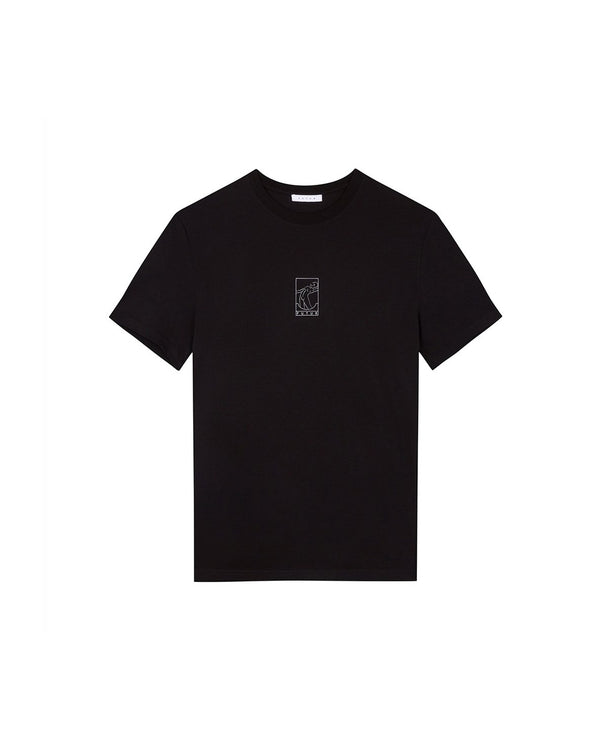 Futur Season 10 Outline T-shirt - Black