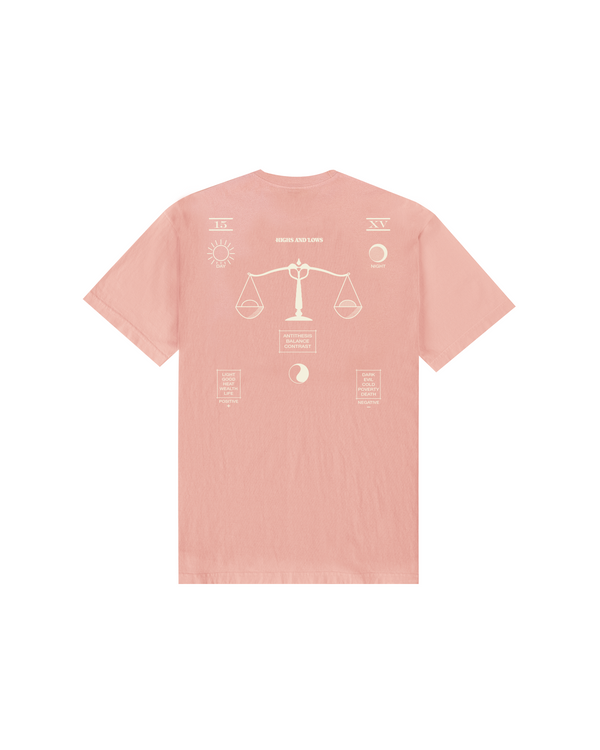 SS21 - ANTITHESIS T-SHIRT - CORAL