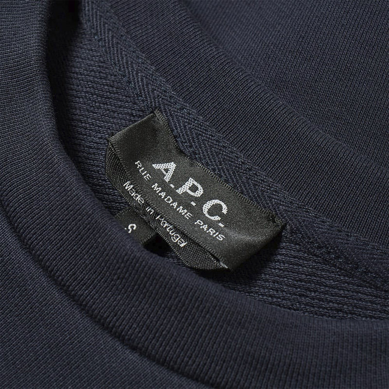 A.P.C. S20 Sweat Decale- Dark Navy