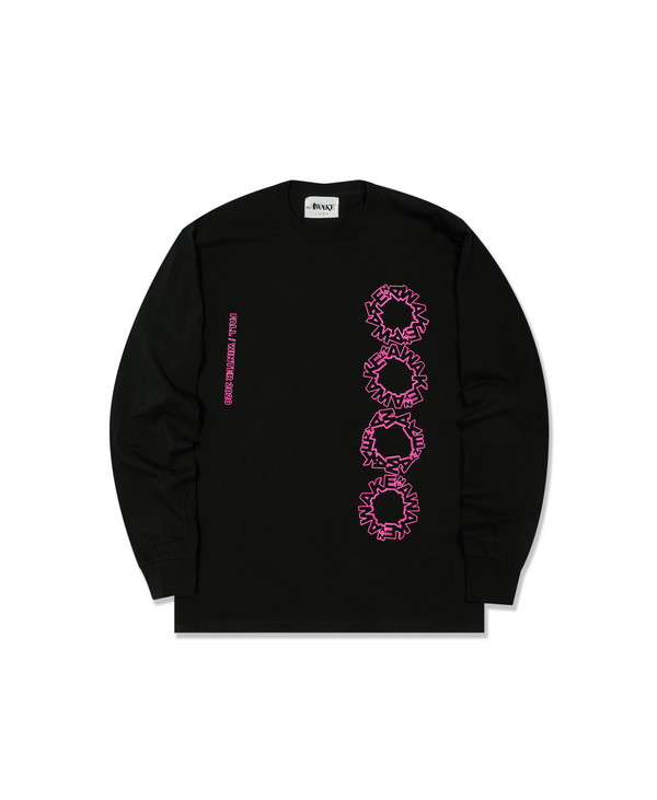 Ceremony Long Sleeve T-Shirt - Black