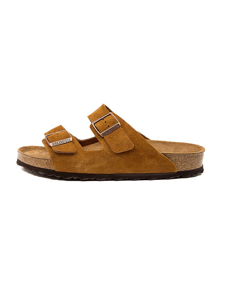 Birkenstock Arizona SFB - Mink Suede Leather