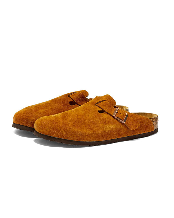 Birkenstock Boston Suede Leather - Mink