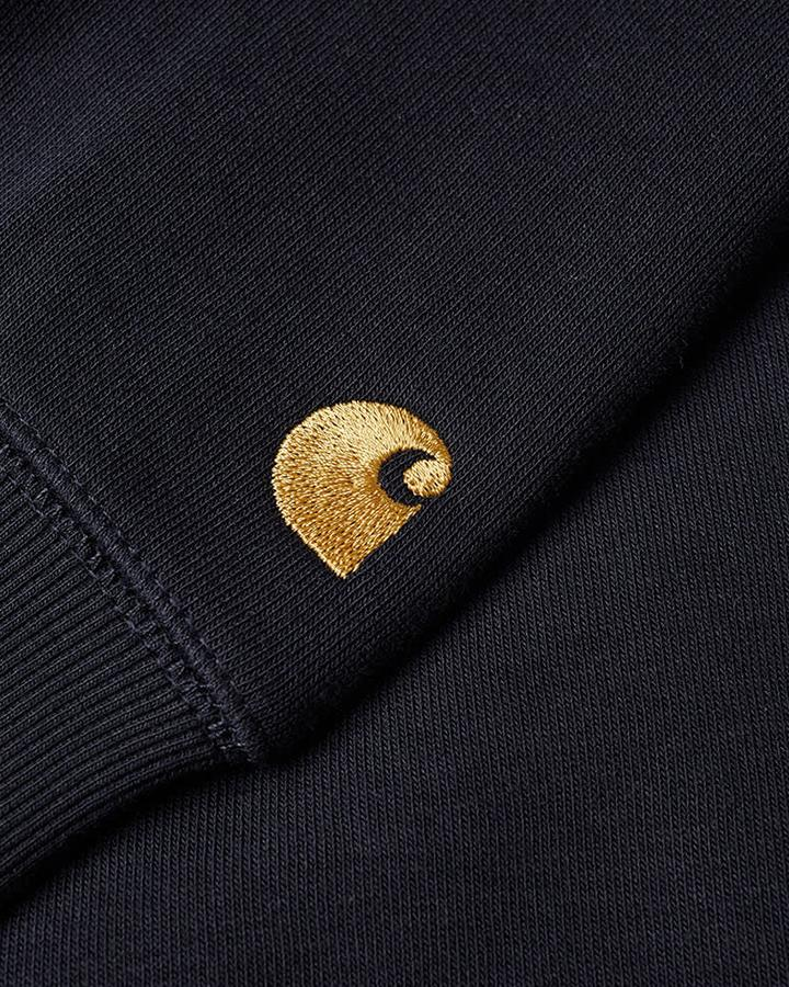Hooded Chase Sweatshirt - Dark Navy