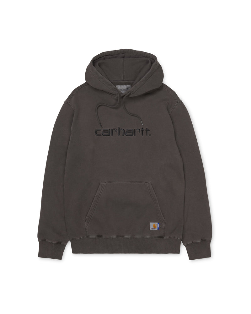 SUPPLY Hd Pigment Dyed Hooded Sweatshirt - Soot