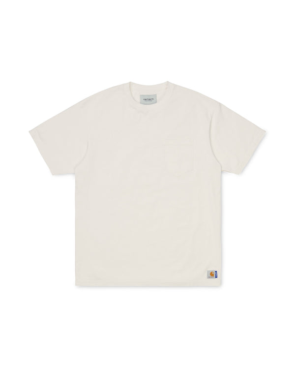 SUPPLY Pocket Loose PD T-shirt - White