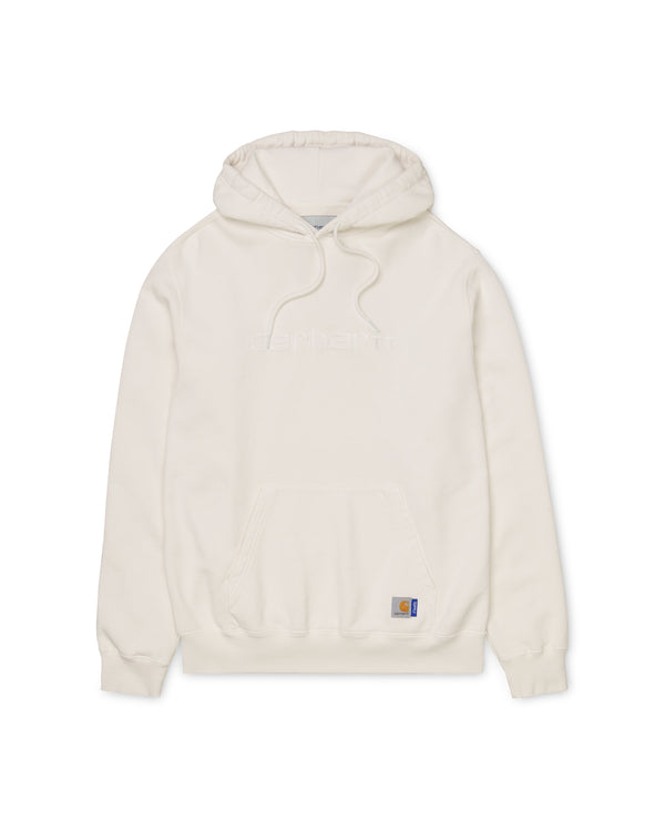 SUPPLY Hd Pigment Dyed Hooded Sweatshirt - White