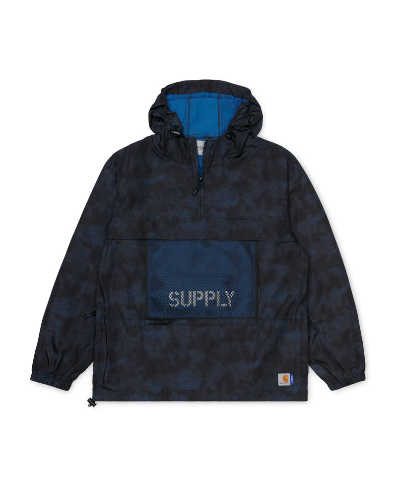 SUPPLY Hd Windbreaker Pullover - Dark Navy