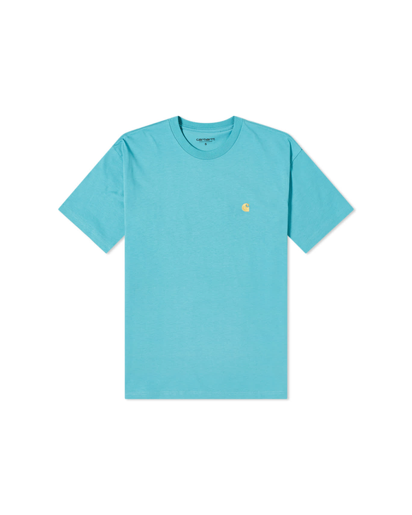 Chase T-Shirt - Turquoise / Gold