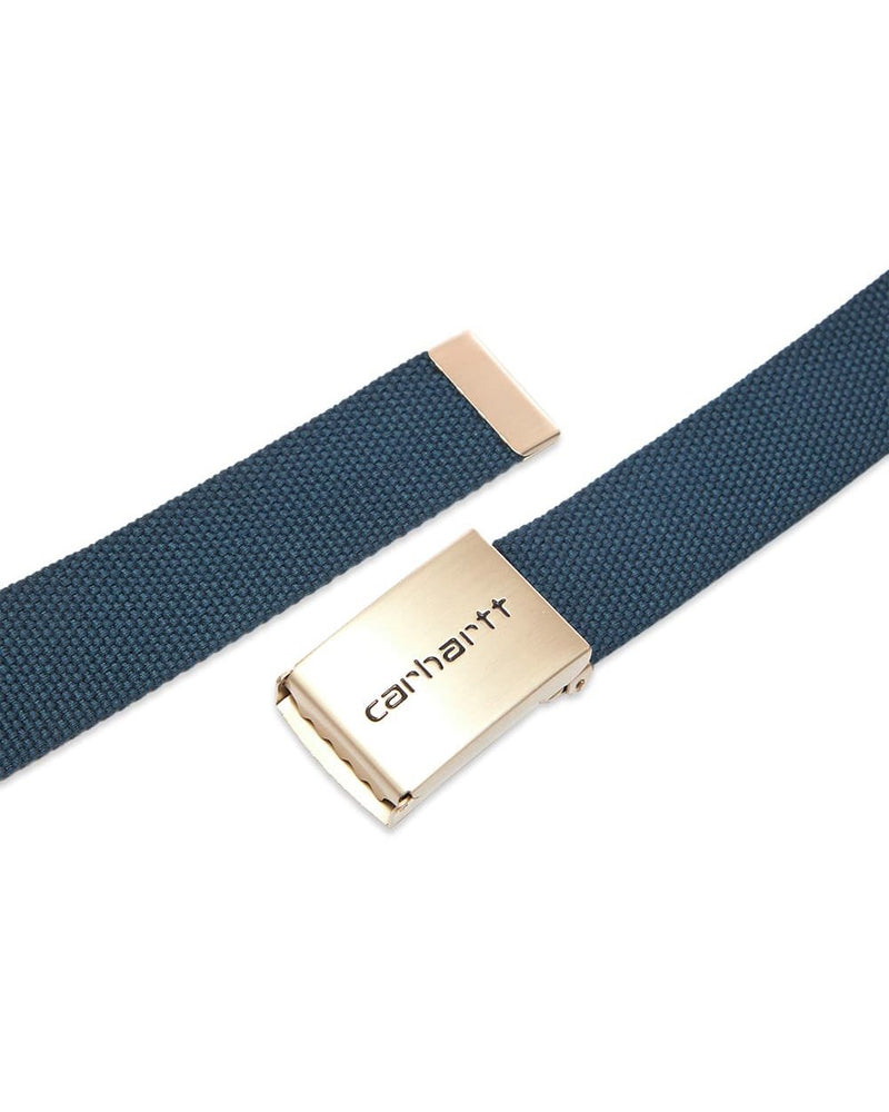 Clip Belt Chrome - Blue