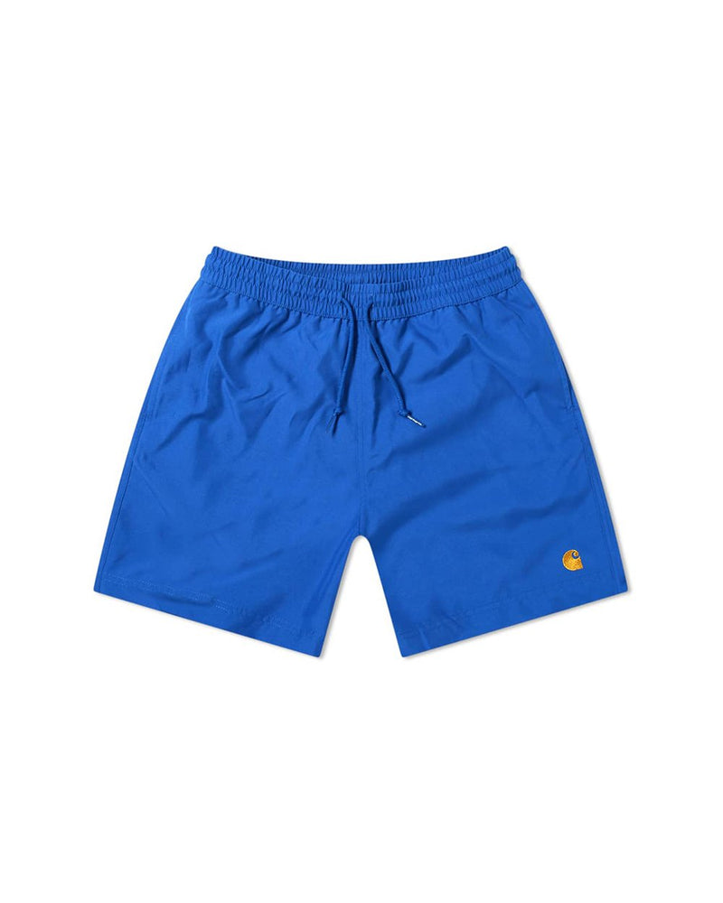 Chase Swim Trunks - Submarine/Gold