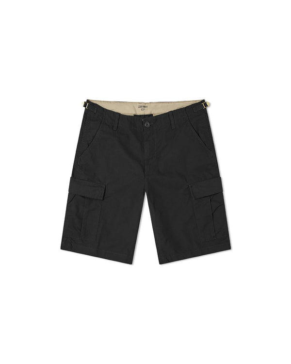 Aviation Short - Black Rinsed