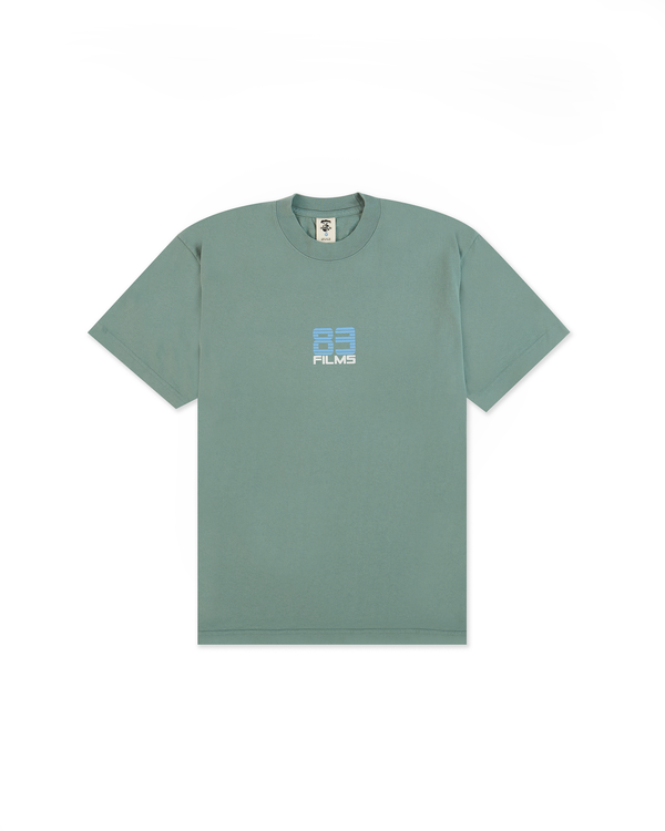 83 Films T-Shirt - Atlantic Green