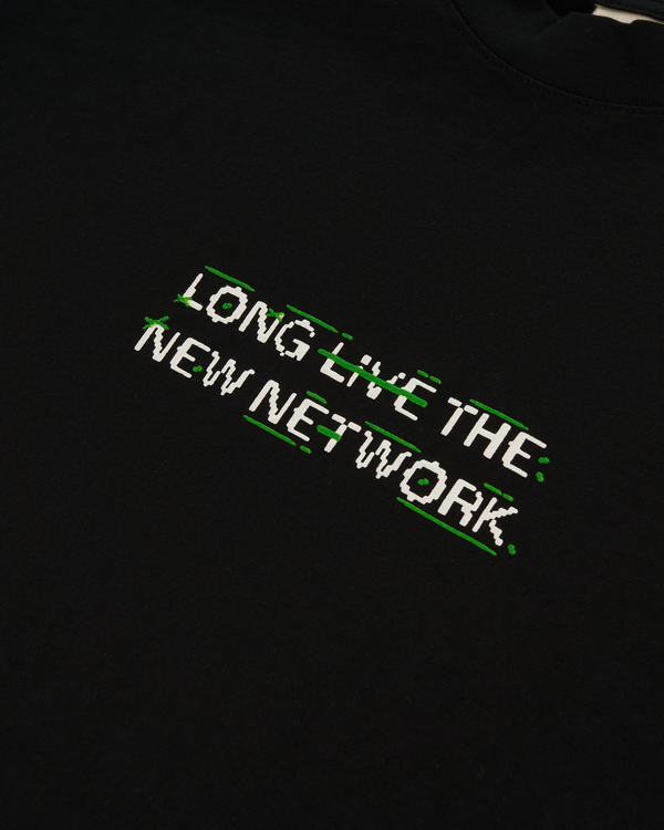 Long Live Logo T-Shirt - Black