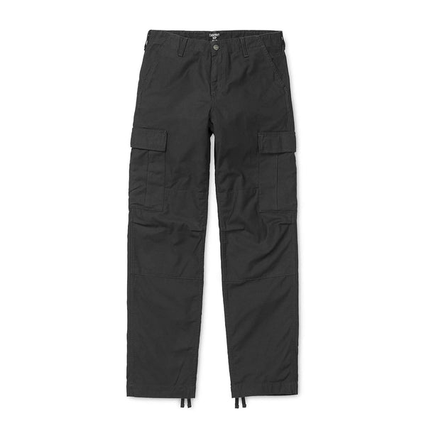 Carhartt WIP Regular Cargo Pant - Black Rinsed