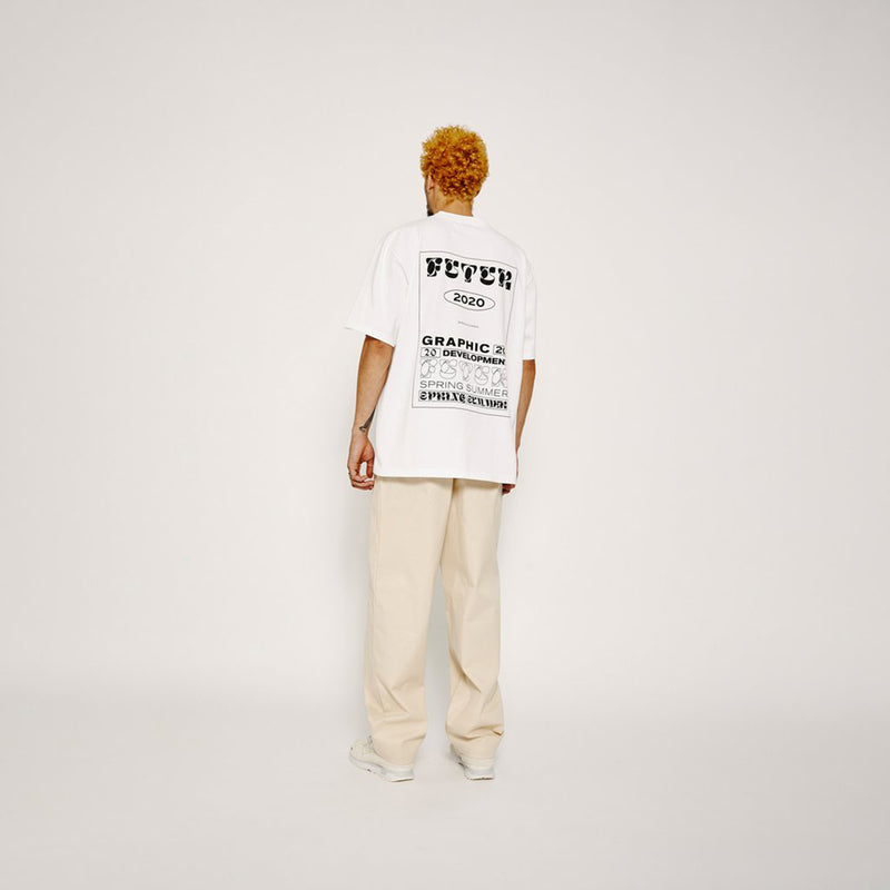 Futur Season 10 G-FIT Typo Tee - White