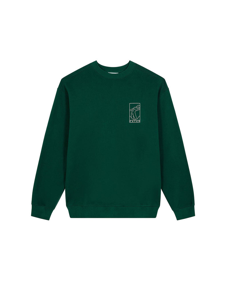 Season 11 NO 1 G Fit Crew - Forest Green