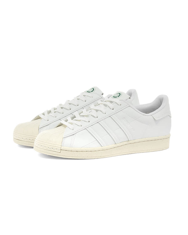 "Superstar ""Clean Classics"" - White/Off-White/Green"