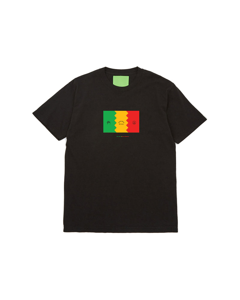 Flag of LA T-Shirt - Black