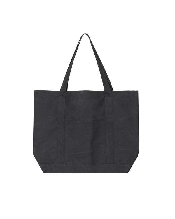 SS21 - HAL RADIO OVERSIZED TOTE - WASHED BLACK