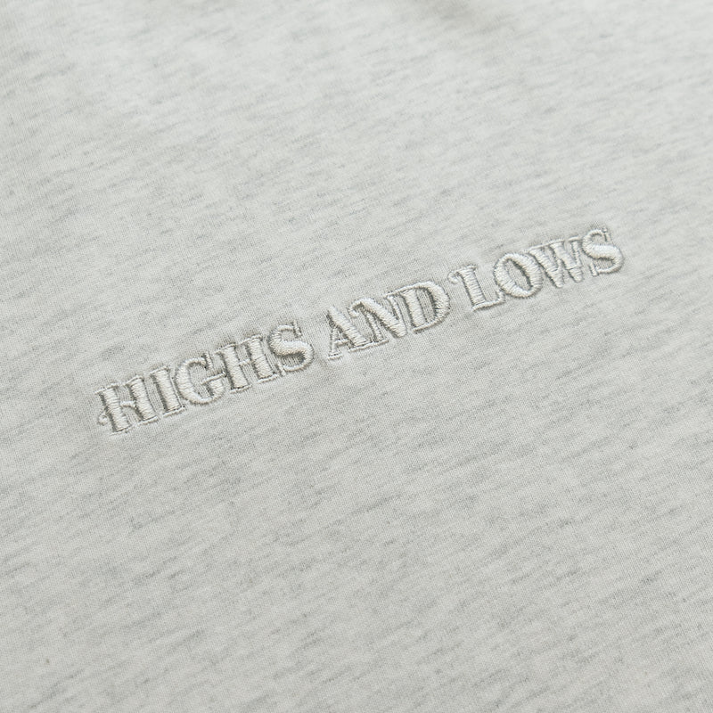 HAL SS20 Bar Logo T-Shirt - Athletic Grey