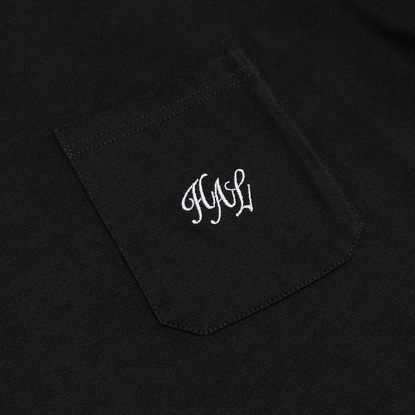 HAL SS20 Pocket T-Shirt - Black