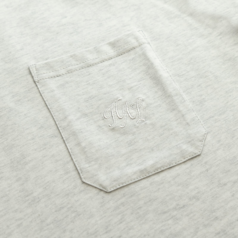 HAL SS20 Pocket T-Shirt - Athletic Grey