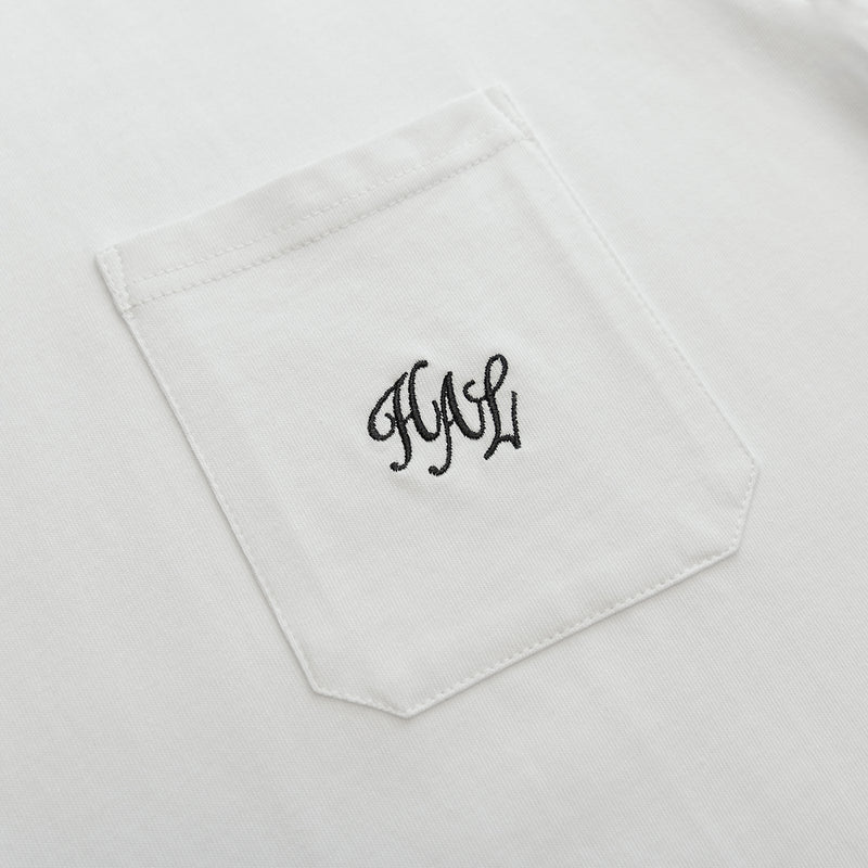 HAL SS20 Pocket T-Shirt - White