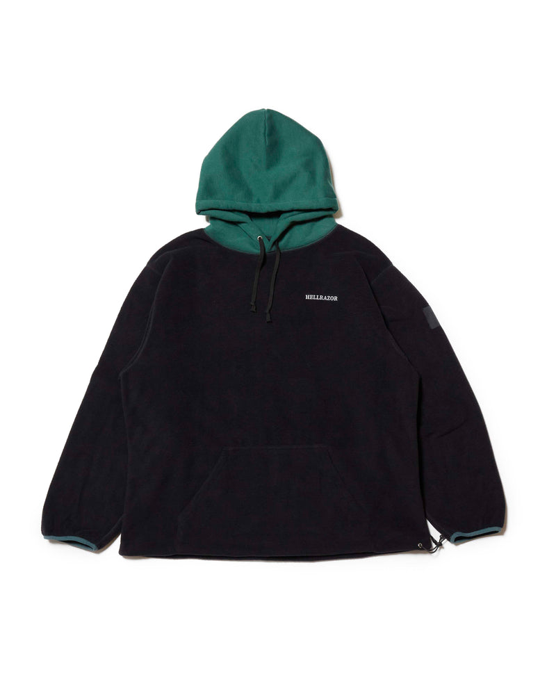 Fleece Parker - Green / Black