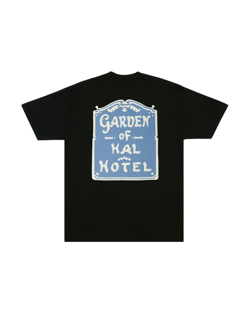 W20 Garden of HAL Hotel T-Shirt - Black