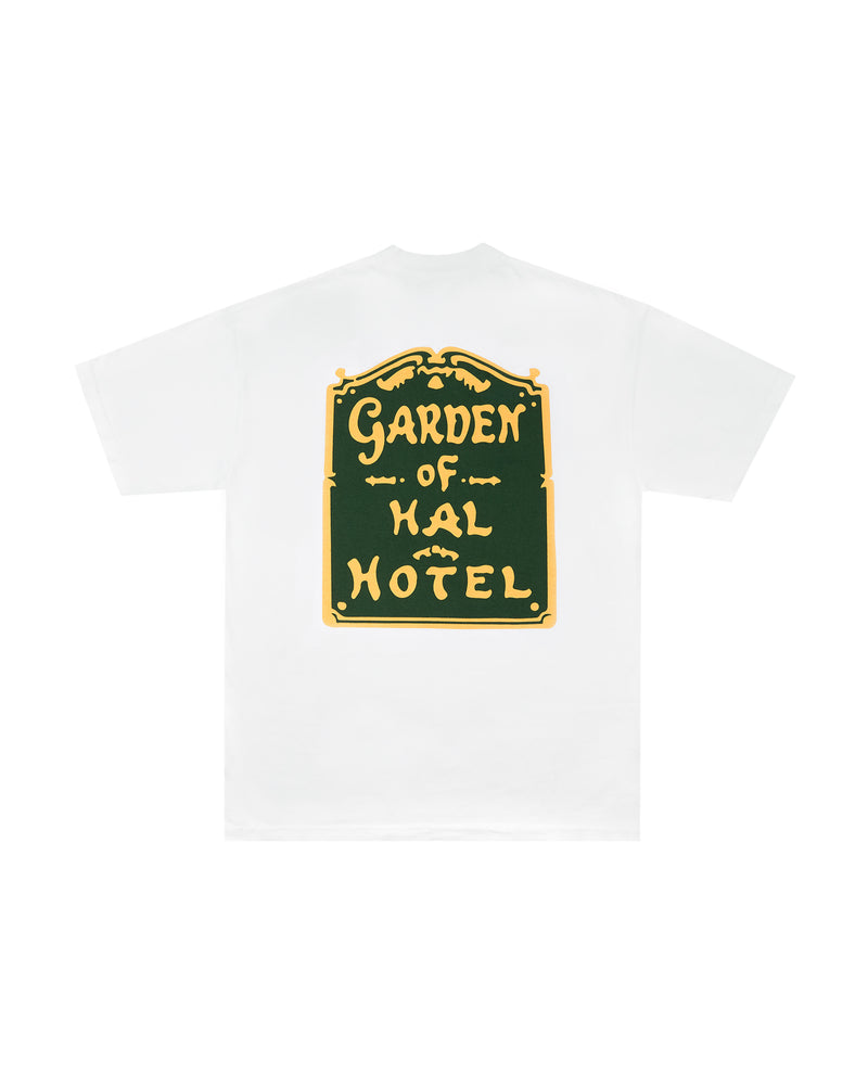 W20 Garden of HAL Hotel T-Shirt - White