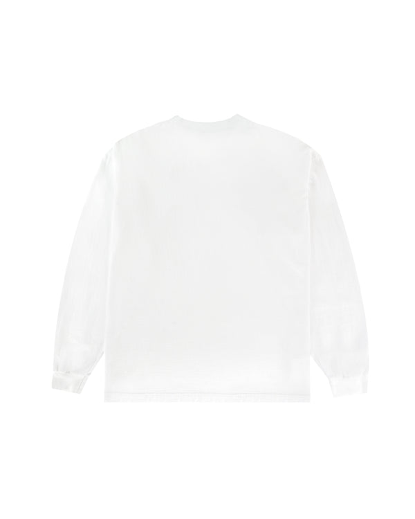 Lady Justice L/S T-Shirt - White