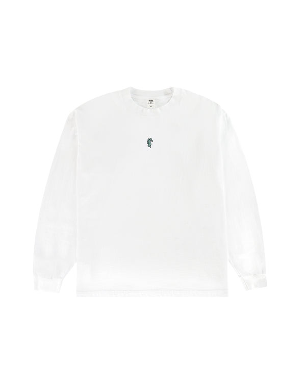 W20 Lady Justice L/S T-Shirt - White