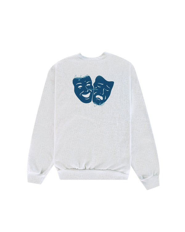 W20 Laugh Now / Cry Later Sweatshirt - Ash Grey