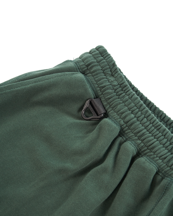 HEAVYWEIGHT COMBED COTTON SHORT - EMERALD