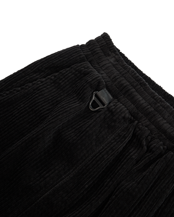 CORDUROY SHORT - BLACK