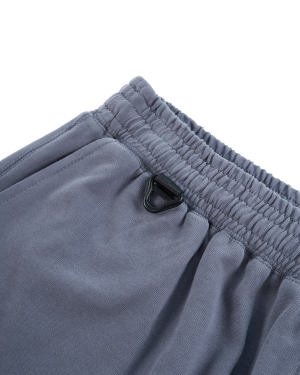 HEAVYWEIGHT COMBED COTTON SHORT - BLUE GRANITE