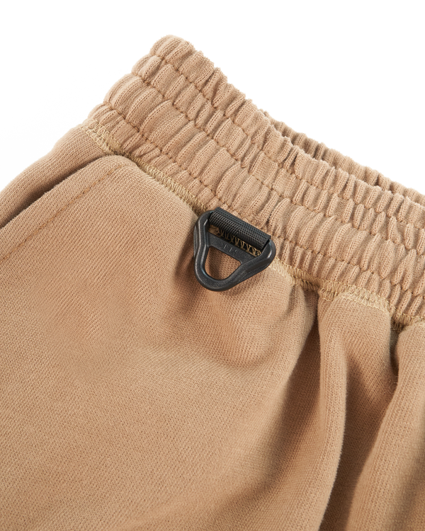 HEAVYWEIGHT COMBED COTTON SHORT - CAMEL