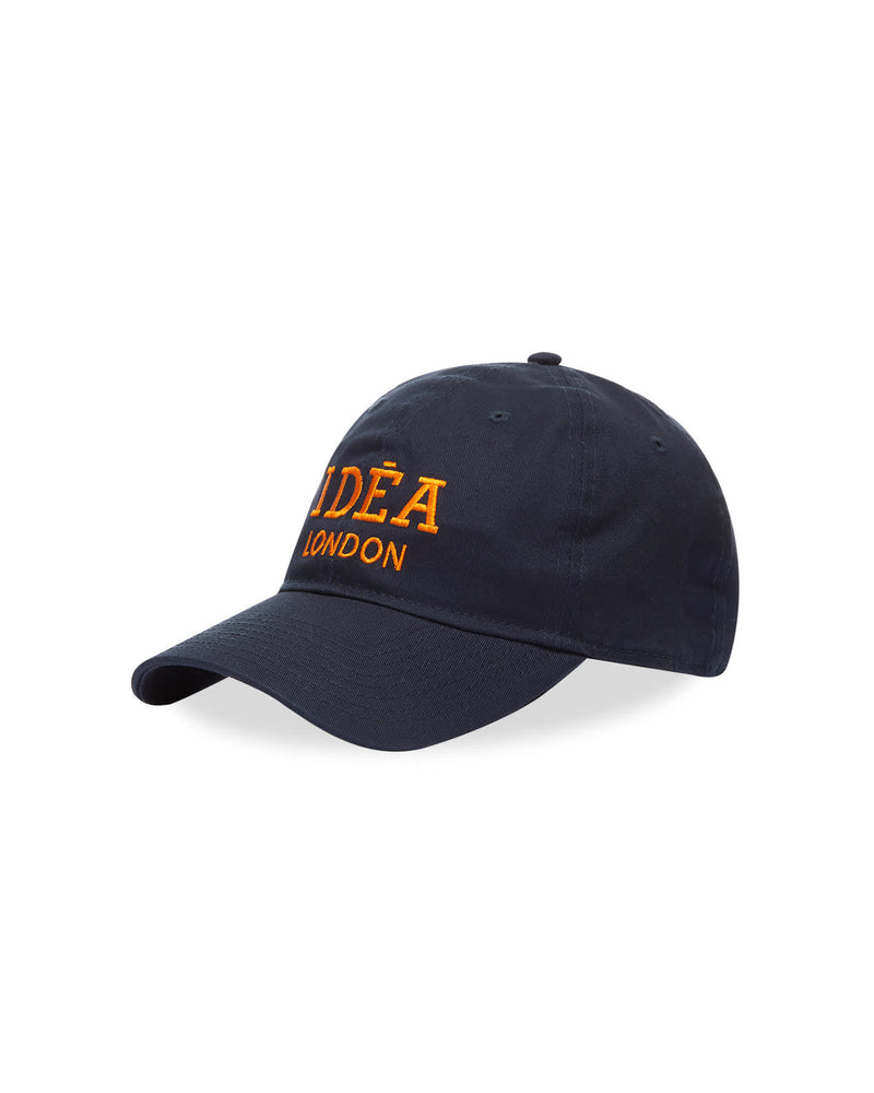 New Era 9Twenty Logo Cap - Navy / Orange