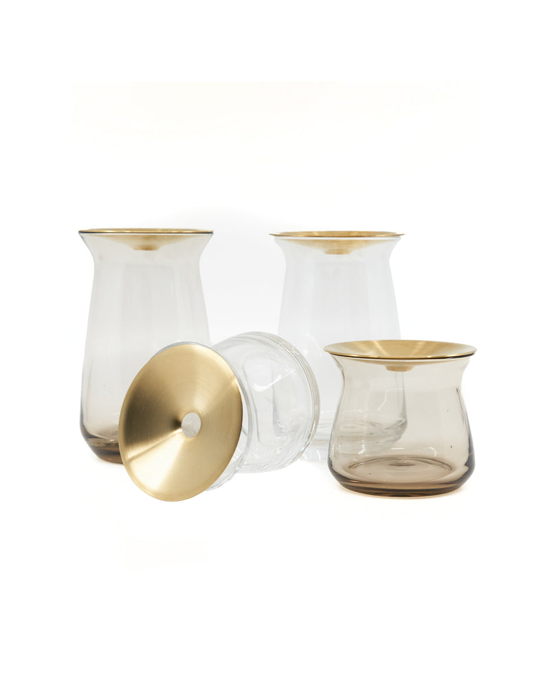 Luna Vase Small - Brown