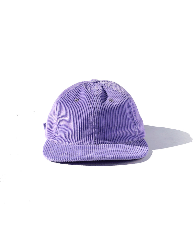 Six Panel Cord Cap - Lavender