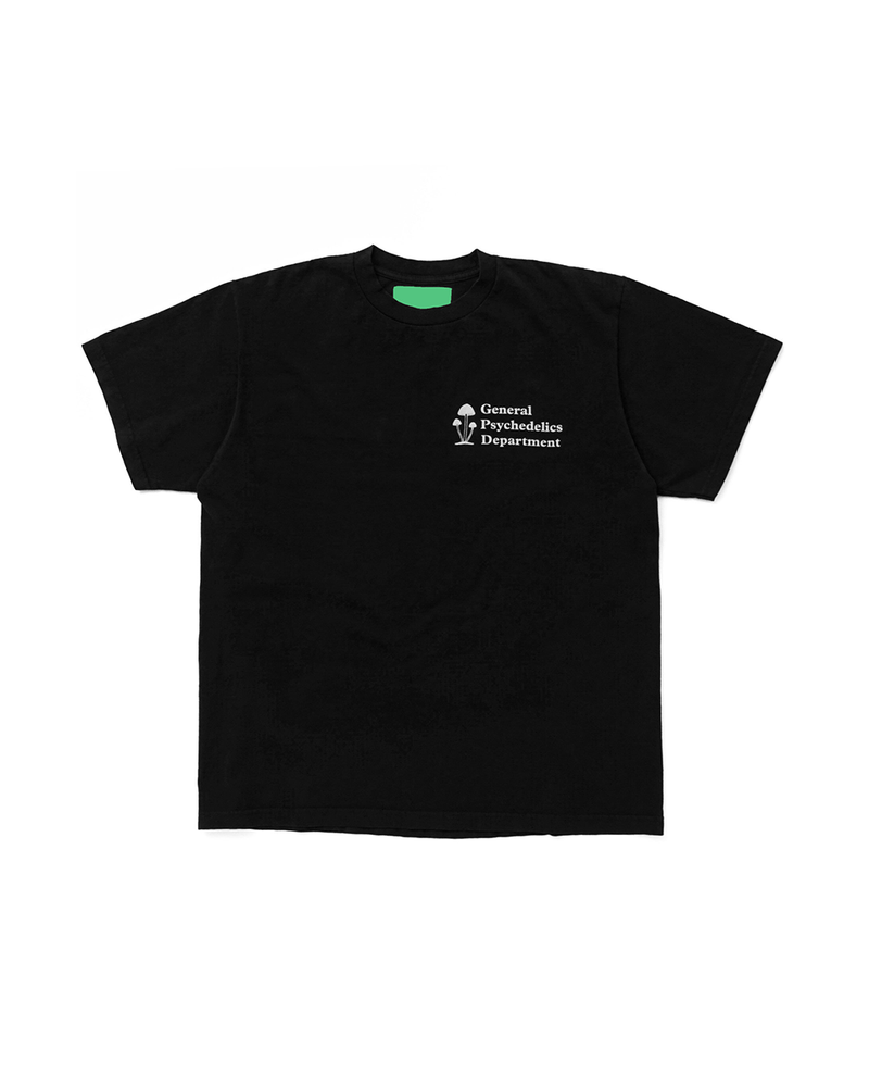 General Psychedelics V2 T-shirt - Black