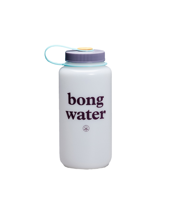 Bong Water Nalgene Bottle - White / Sun Sea