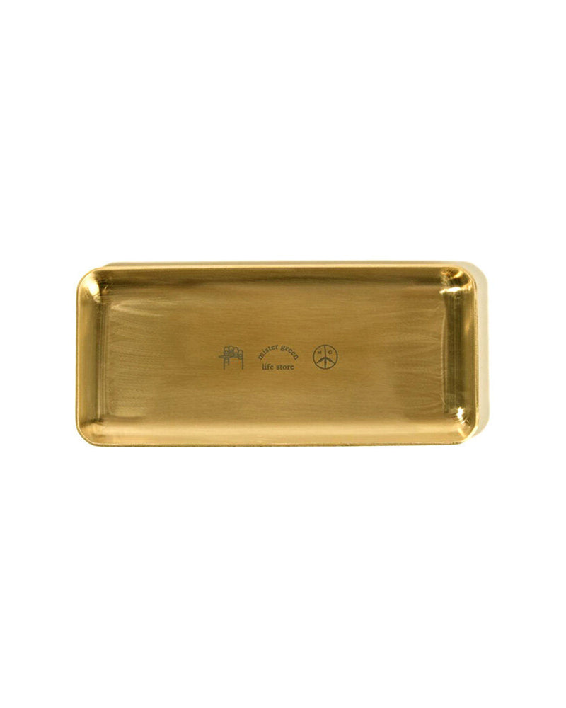 Logo Rolling Tray - Gold