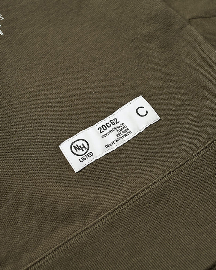 Neighborhood Light P Sweatshirt - Olive Drab