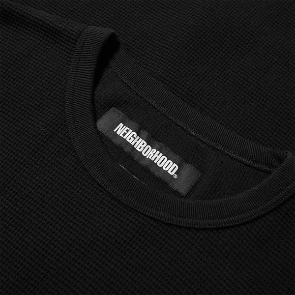 Neighborhood Waffle LS - Black