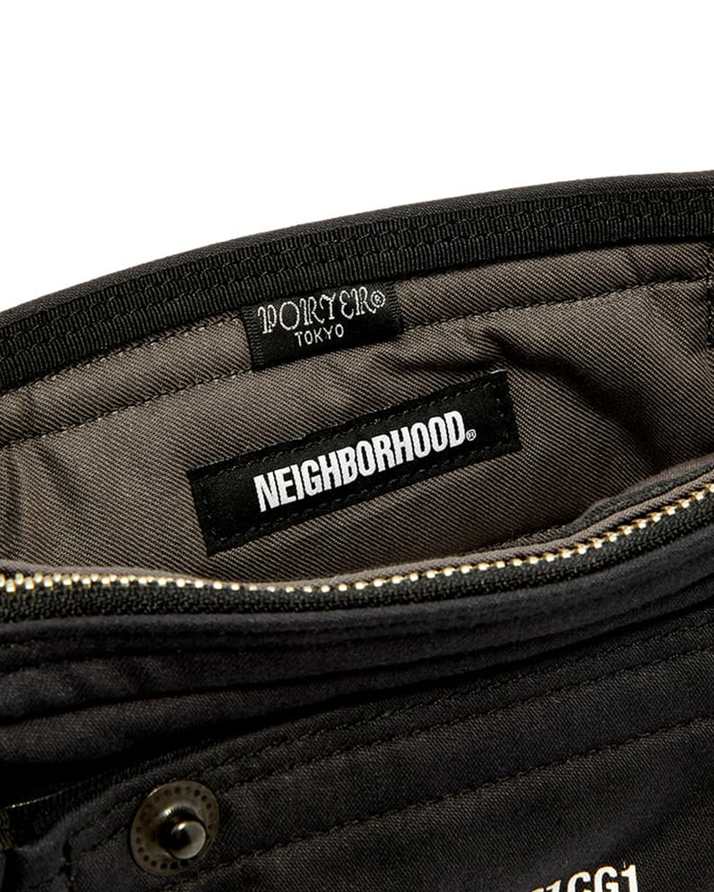 NHPT Shoulder Bag - Black