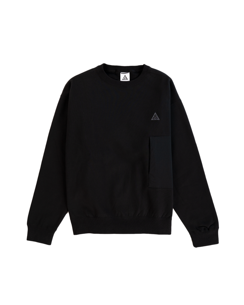 ACG Crewneck Sweatshirt - BLACK