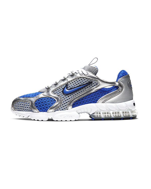 Nike Air Zoom Spiridon Cage 2 - Metallic Silver/Varsity Royal