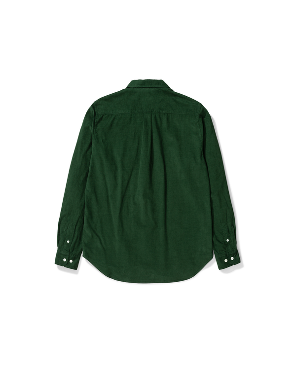 Osvald Corduroy LS Shirt - Dartmouth Green