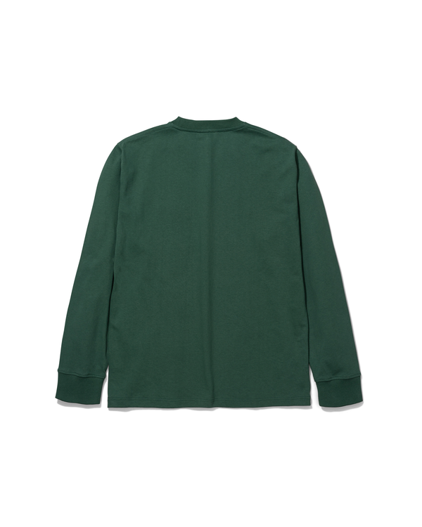 Johannes Pocket LS T-shirt - Dartmouth Green
